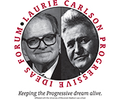 Laurie Carlson Progressive Ideas Forum logo
